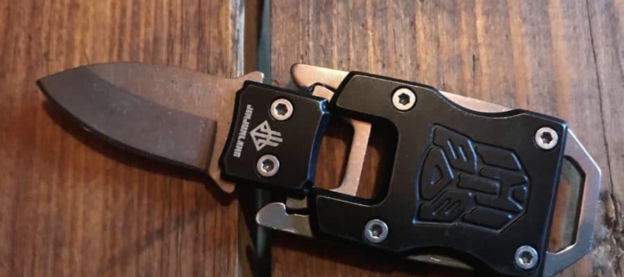 NedFoss Minimesser aufgesteckt