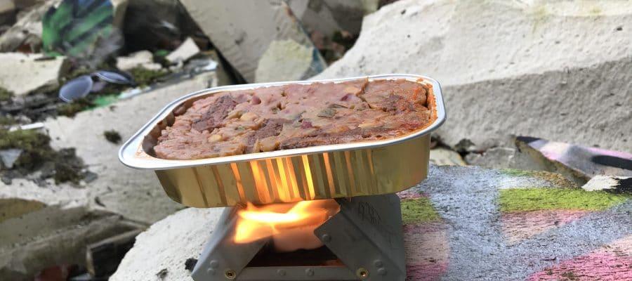 Unterwegs kochen mit dem Taschenkocher von Esbit