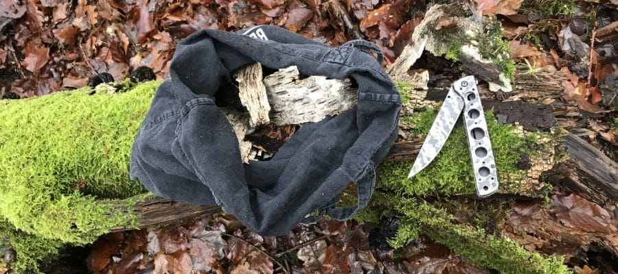 Birkenrinde aus dem Wald