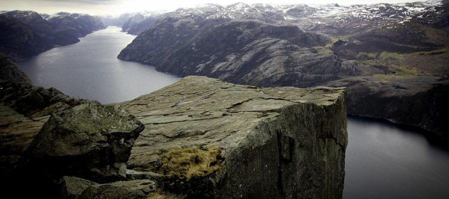 Norwegen Preikistolen