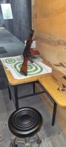 AK auf dem Schießstand