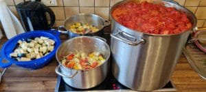 Einkochen aus dem Foodsharing